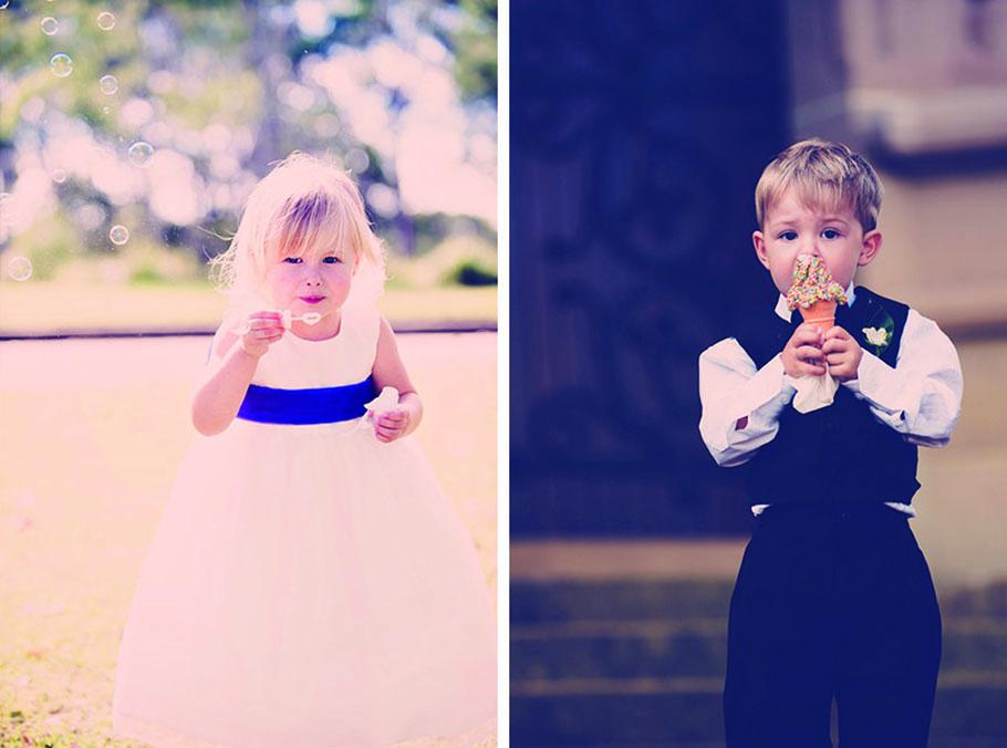 Cute kids weddings
